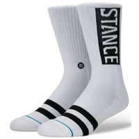 Stance Mens Socks OG White Large