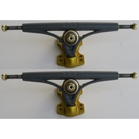 Rare Board Co Longboard Trucks 200mm Gold Grey