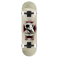 Birdhouse Level 3 Skull Foil Complete Skateboard 8.0