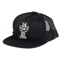 Dogtown RxCx Patch Mesh Flip Hat Black