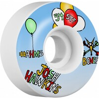 Bones Skateboard Wheels Stf Hawkins Happy 54mm