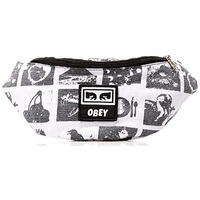 Obey Waist Bag Wasted Hip Zine White