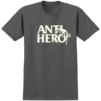 Anti Hero T-Shirt Doghump Medium Charcoal