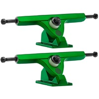 Caliber Longboard Trucks 2 184mm 44 Degrees Satin Green