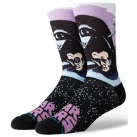 Stance Mens Socks Darth Vader Purple Large
