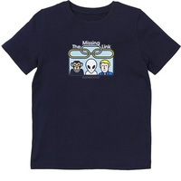 Alien Workshop Youth T-Shirt Missing Link Youth Large Navy