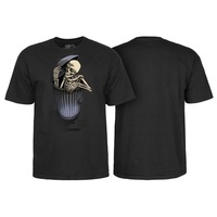 Powell Peralta Garbage Can Skelly T-Shirt Medium Black