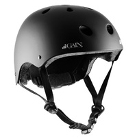Gain Protection Certified Helmet The Sleeper Matte Black Adjustable Size XS to M
