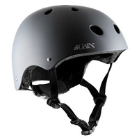 Gain Protection Certified Helmet The Sleeper Matte Grey Adjustable Size XS to M