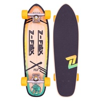 Z-Flex Complete Cruiser Skateboard Pop Rasta 27