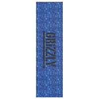Grizzly Skateboard Grip Tape Sheet 9 x 33 Glitter Blue
