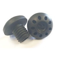 Root Industries Bar Ends R2 Plugs Sold As Pairs Small Black