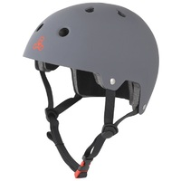 Triple 8 Brainsaver Certified Helmet Gun Matte Rubber Size Small to Medium Skate Scooter
