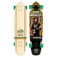 Sector 9 Complete Longboard Skateboard Bob Marley Trenchtown Rock