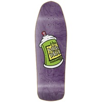 New Deal Skateboard Deck New Deal Spray Can SP Purple 9.75