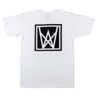 Welcome Skateboards Icon T-Shirt White Black - Medium