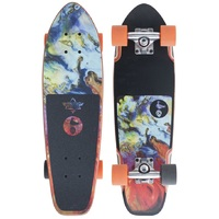 Dusters Complete Cruiser Skateboard Bird Lava