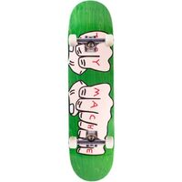Toy Machine Skateboard Complete Fists Green 7.75