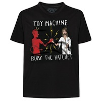 Toy Machine Bury The Hatchet T-Shirt Large Black