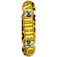 Anti Hero Complete Skateboard Blackhero 7.75 Orange