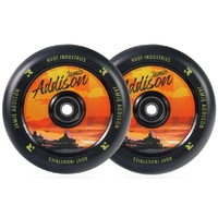 Root Industries Air 120mm Wheel Set Jamie Addison Sunset