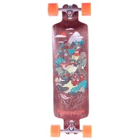 Pantheon Longboard Complete Trip Brown Indian Hills Orangatang Kegel Wheels