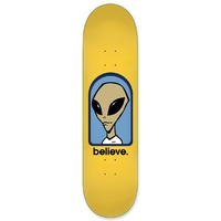 Alien Workshop Skateboard Deck 8.0 Believe Yellow