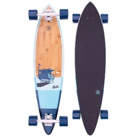 Z-Flex Skateboard Complete Bamboo Pintail 38
