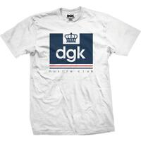 DGK T-Shirt Hustle Club Medium White