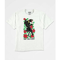 DGK T-Shirt Don't Back Down Medium White