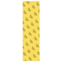 Mob Skateboard Grip Tape Sheet 9 x 33 Trans Yellow Perforated