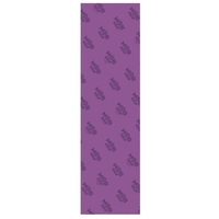 Mob Skateboard Grip Tape Sheet 9 x 33 Trans Purple Perforated