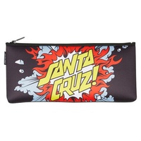 Santa Cruz Pencil Case Boom Black Youth