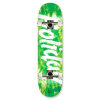 Holiday Complete Micro Skateboards Tie Dye Green 7.0