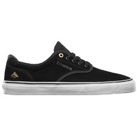 Emerica Mens Skate Shoes Wino G6 Black White