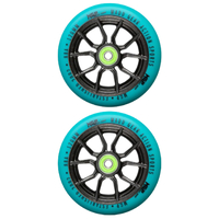 Madd Gear MGP Ext Syndicate AR210 120mm Scooter Wheels Set Of 2 Teal Black