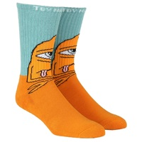 Toy Machine Socks Bored Sect Crew Blue