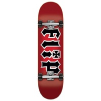 Flip Skateboard Complete Team HKD Red Black 7.75
