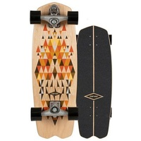 Carver Skateboard Complete Spectra With C7 Trucks Silver