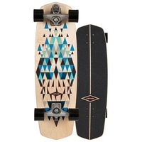 Carver Skateboard Complete Prisma With C7 Trucks Silver