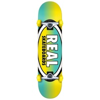 Real Oval Fades Complete Skateboard 7.5