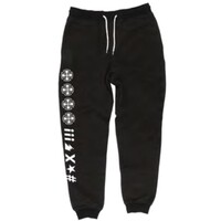 Independent Truck Co Ante Fleece Trackpants Black Size Extra Large Mens