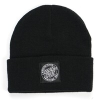 Santa Cruz Original Dot Beanie Black