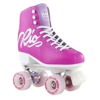 Rio Roller Skates Script Pink Lilac - Size US 5