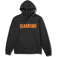 Diamond Supply Co Hoodie French Terry Black Mens Large