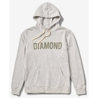 Diamond Supply Co Hoodie Diamond French Terry Heather Large