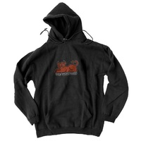 Toy Machine Devil Cat Hoodie Medium Black
