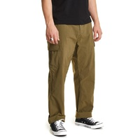 Brixton Transport Cargo Pants Olive Size 34 Mens