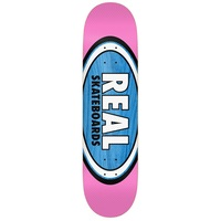 Real Skateboard Deck AM Oval Stella 8.06