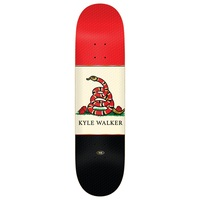 Real Skateboard Deck Outlaw Embossed Walker 8.5